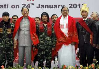 largest surrender by militants in north east to...