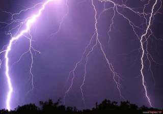lightning strike kills five farmers in ap - India...