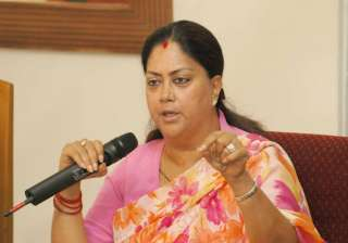 mahila congress assails raje govt over rising...