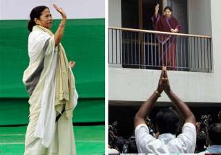 mamata ends 34 year left rule jaya trumps dmk in...