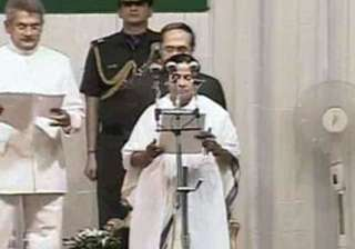 mamata sworn in as bengal s first woman cm -...