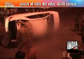 man killed as altis car hits divider in delhi -...