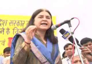 maneka miffed with mp govt s move to simplify...