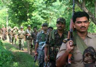 maoist attack fir against 7 massive search...