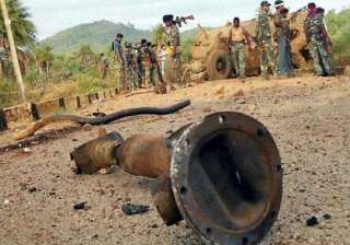 maoists hit odisha district seeks choppers forces...