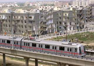 metro train services to dwarka disrupted again -...