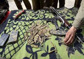 militants hideout unearthed in manipur arms...