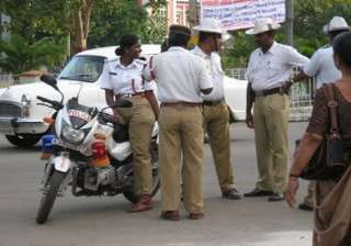 mumbai traffic cop assaulted by mlas transferred...