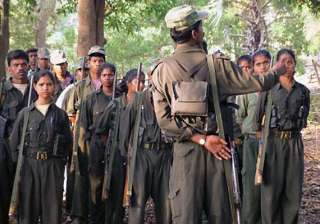 ncp leader shot by maoists - India TV