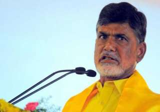 naidu to tour ap and expose congress politics of...