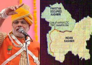 narendra modi govt to rename pok as pak occupied...