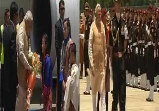 modi vows to boost b4b ties with bhutan on 1st...