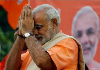 narendra modi lays foundation stone of sardar...