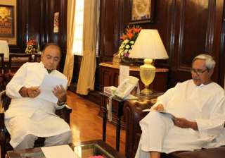 naveen meets jaitley seeks compensation for cst...