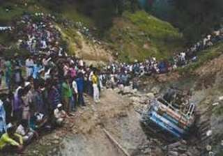 nine dead as taxi rolls down gorge in baramulla -...
