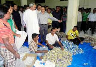 odisha announces food packages for cyclone hit...