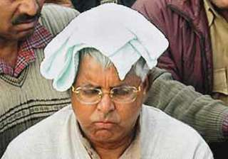 on baba s advice lalu filling up pond at his...