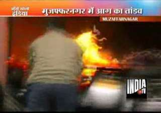 one dead 20 suffer burns as lpg leak causes fire...