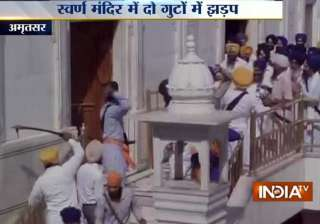 uneasy calm at golden temple complex after...