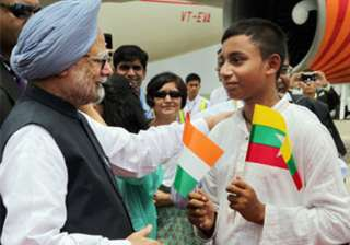 pm returns home after myanmar visit - India TV