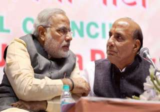 pmo strikes down rajnath other ministers choice...