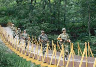 pak targets indian posts along poonch 7th...