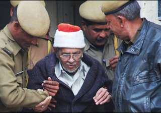 pak scientist chisti to be released on wednesday...