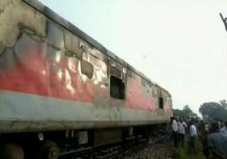 pantry car on rajdhani express catches fire in...
