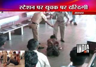 police grp bash up mentally unstable youth in...