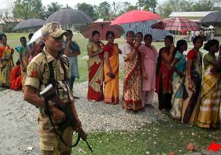 81 pc polling in fifth phase in bengal - India TV