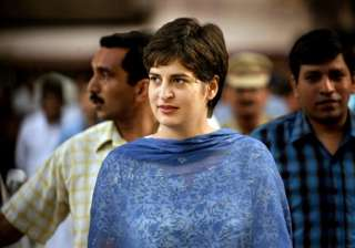 priyanka announces cong candidate changes sitting...