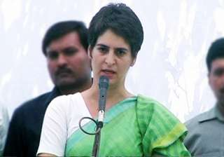 priyanka asks congress workers to stay away from...