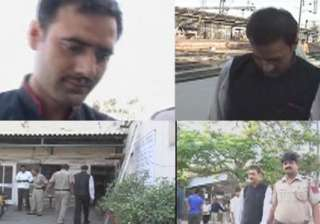 railway waiter held for molesting girl on...