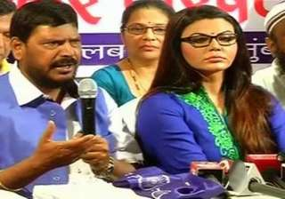 rakhi sawant joins rpi as president of women s...
