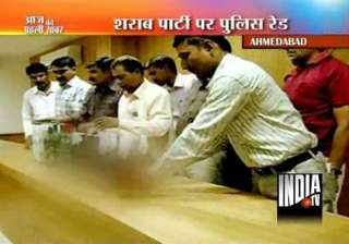 rave party raided in gujarat 41 detained - India...