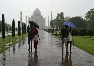record rains in agra - India TV