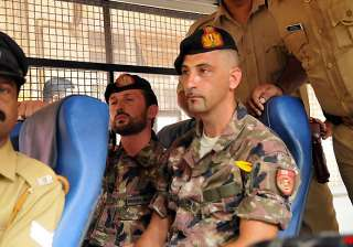 remand of italian marines extended - India TV