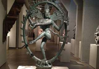 removal of stolen shiva idol first step in...
