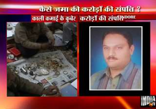 rs 4 cr property unearthed from ujjain clerk...