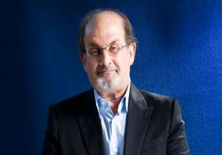 rushdie cancels visit angry authors read satanic...