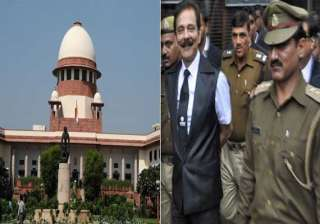 sc rejects sahara proposal roy to remain in tihar...