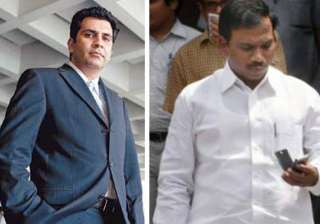 sanjay chandra was a regular visitor to a. raja s...