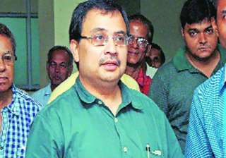saradha scam sfio grills mp kunal ghosh for over...