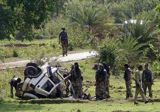 seven killed as maoists blow up a vehicle in...