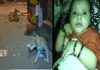 shocking 2 months old baby mauled to death by dog...