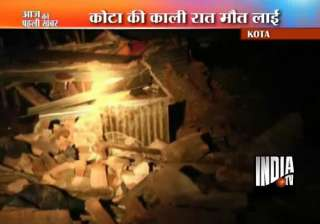 six labourers killed in kota wall collapse -...