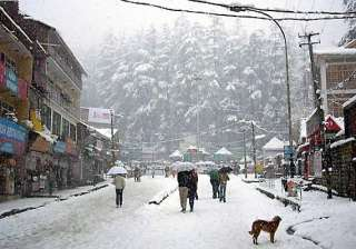 snowfall continues in manali - India TV