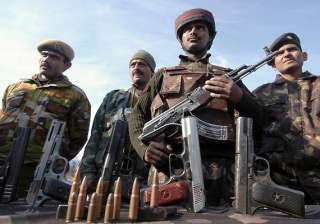 soldier militant killed in kashmir gunfight -...