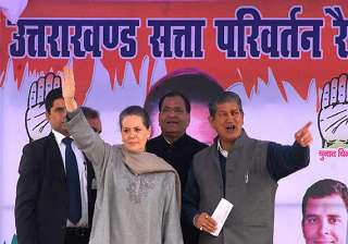 sonia lashes out at bjp on uttarakhand corruption...