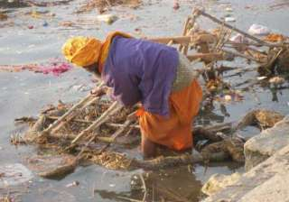 spitting in ganga could land you in jail for...
